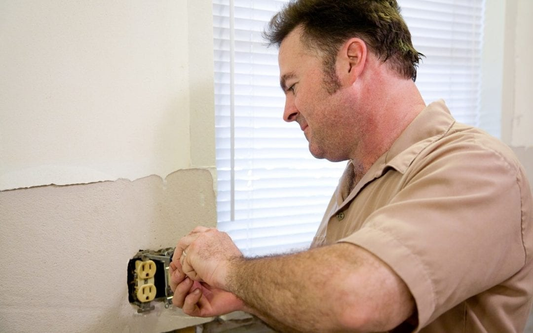 call an electrician if you notice signs of an electrical problem